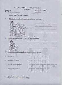 CLASS 3 ENG I