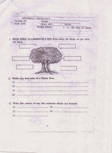 Question Paper Of Drawing For Class 4